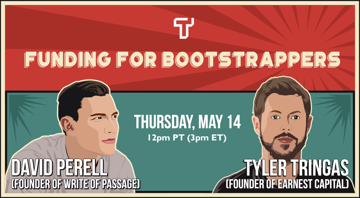 Funding for Bootstrappers lecture