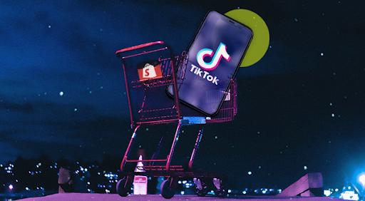 Shopify x TikTok graphic