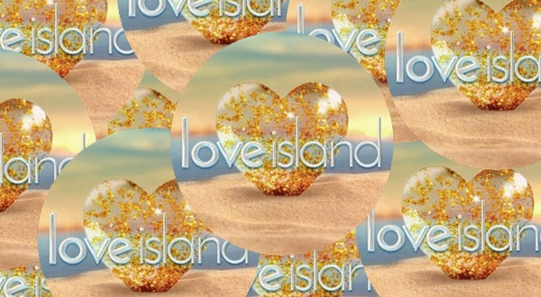 Love Island app graphic