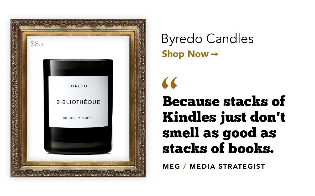 Byredo Candles