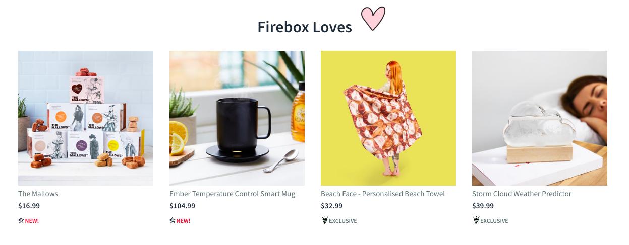 Firebox Loves