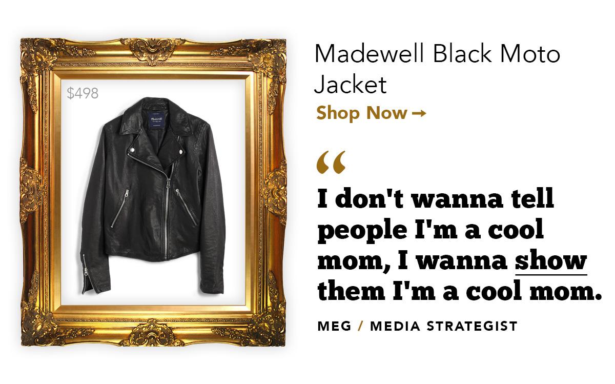 Madewell Black Moto Jacket