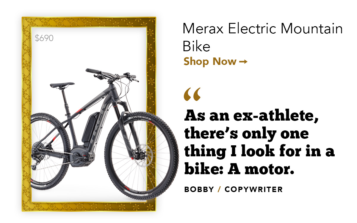 Merax Electric Mountain Bike