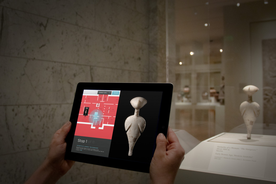 Augmented Reality App for Tablet enhances Museum Tour